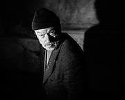 Anziano, Roma 11 novembre 2014.  Christian Mantuano / OneShot