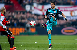 25-02-2017 NED: Feyenoord - PSV, Rotterdam<br /> 24e speelronde van seizoen 2016-2017, De Kuip / Héctor Moreno of PSV