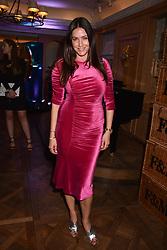 Lisa Snowdon at the Fortnum & Mason Food and Drink Awards, Fortnum & Mason Food and Drink Awards, London, England. 10 May 2018.