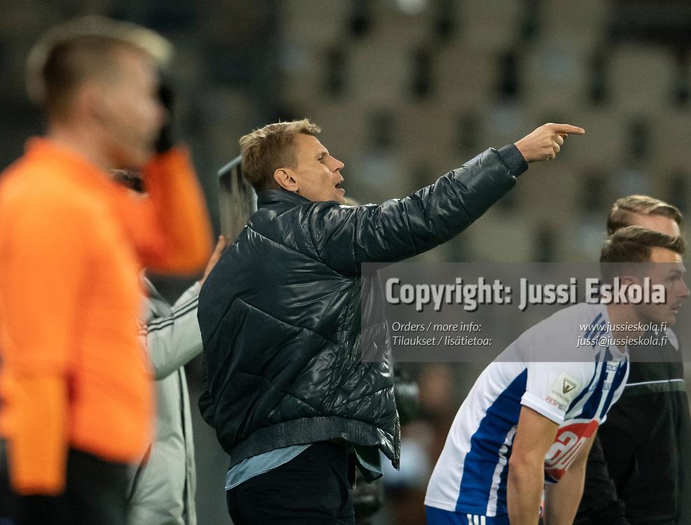 Toni Koskela. HJK - SJK. Veikkausliiga. Helsinki 3.10.2021. Photo: Jussi Eskola