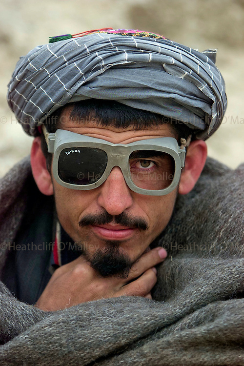 A Northern Alliance soldier close to the outskirts of Kunduz.