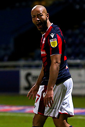 Alex John-Baptiste of Bolton Wanderers shouts - Mandatory by-line: Ryan Crockett/JMP - 17/02/2021 - FOOTBALL - One Call Stadium - Mansfield, England - Mansfield Town v Bolton Wanderers - Sky Bet League Two