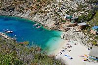 Grece, iles Ioniennes, ile de Zante, plage de Porto Vromi // Greece, Ionian island, Zante island, Porto Vromi beach