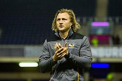 Tommy Taylor of Wasps arrives ahead of kick off - Mandatory by-line: Ewan Bootman/JMP - 06/12/2019 - RUGBY - Murrayfield - Edinburgh, England - Edinburgh Rugby v Wasps - European Rugby Challenge Cup