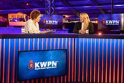 Dekker Charlotte, Kossen Monica, Diepman Leon, Van Daele Andries<br /> KWPN Hengstenkeuring 2021<br /> © Hippo Foto - Dirk Caremans<br />  04/02/2021