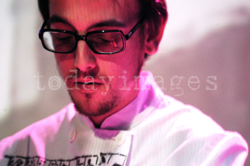 Cristian Vogel performing at the Electronica en abril festival  in Madrid 2005