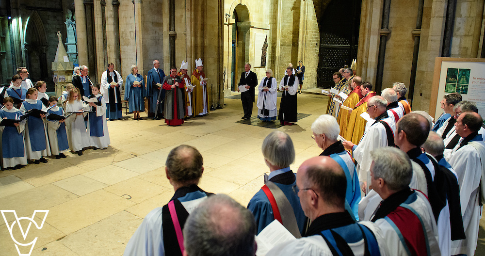 The installation of The Very Reverend Christine Wilson as the 84th Dean of Lincoln Cathedral<br /> <br /> Picture: Chris Vaughan Photography for Lincoln Cathedral<br /> <br /> Date: October 22, 2016