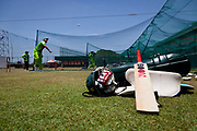 Pakistan National Cricket captain Shahid Afridi in bowling practice during the group stages of the 2011 ICC World Cricket Cup, Colombo, Sri Lanka.