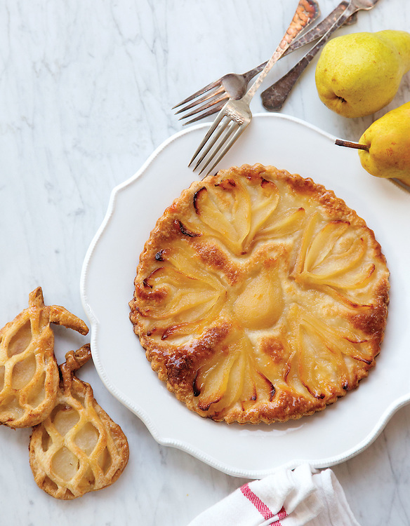 The pear tart from Laughlin's Bakery in the Short North. (Will Shilling/Crave)