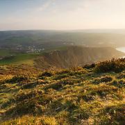 The cliffs of Exmoor near Combe Martin