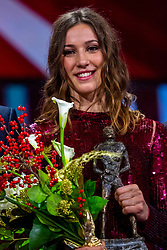 19-12-2018 NED: Sportgala NOC * NSF 2018, Amsterdam<br /> In de Amsterdamse AFAS vindt het traditionele NOC NSF Sportgala plaats / Suzanne Schulting, Sportvrouw van het Jaar 2018