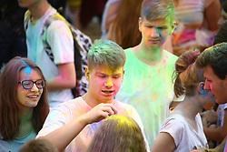 June 24, 2017 - Warsaw, Poland - Holi festival held at the beginning of summer holidays near Vistula river. (Credit Image: © Madeleine Lenz/Pacific Press via ZUMA Wire)