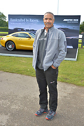 DALEY THOMPSON at the Laureus King Power Cup polo match held at Ham Polo Club, Richmond on 16th June 2016.