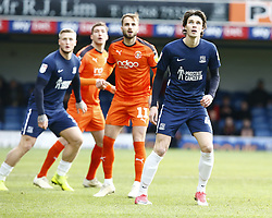 January 26, 2019 - Southend, England, United Kingdom - Sam Hart of Southend United (Right).during Sky Bet League One match between Southend United and Luton Town at Roots Hall Ground, Southend, England on 26 Jan 2019. (Credit Image: © Action Foto Sport/NurPhoto via ZUMA Press)