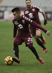 January 6, 2018 - Turin, Italy - Alejandro Berenguer during Serie A match between Torino v Bologna, in Turin, on January 6, 2018  (Credit Image: © Loris Roselli/NurPhoto via ZUMA Press)