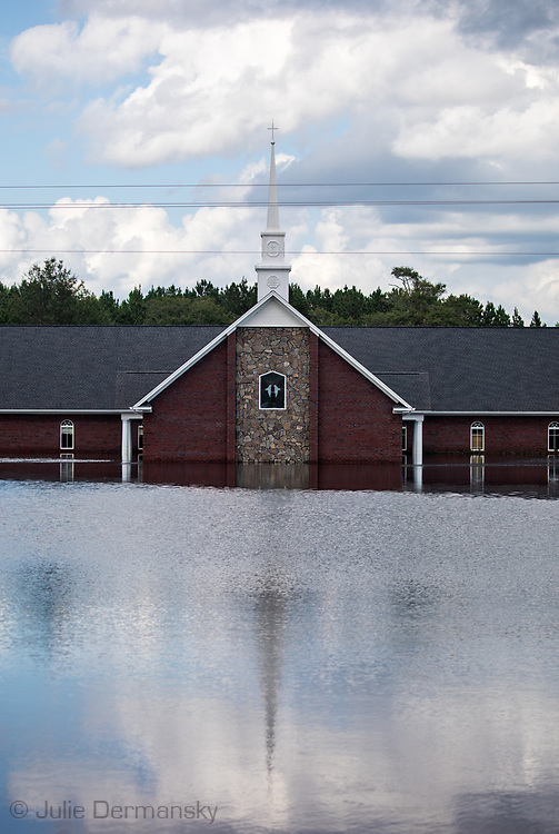 Pine Grove Baptist Church in Brittons Neck, South Carolina.