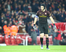October 31, 2018 - London, England, United Kingdom - London, UK, 31 October, 2018.Petr Cech of Arsenal .During Carabao Cup fourth Round between Arsenal and Blackpool at Emirates stadium , London, England on 31 Oct 2018. (Credit Image: © Action Foto Sport/NurPhoto via ZUMA Press)