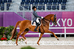 Garcia Mena Jose Antonio, ESP, Sorento 15, 124<br /> Olympic Games Tokyo 2021<br /> © Hippo Foto - Stefan Lafrentz<br /> 27/07/2021