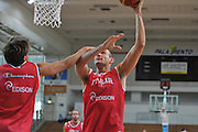 DESCRIZIONE : Trento Primo Trentino Basket Cup Nazionale Italia Maschile <br /> GIOCATORE : Marco Cusin<br /> CATEGORIA : allenamento<br /> SQUADRA : Nazionale Italia <br /> EVENTO :  Trento Primo Trentino Basket Cup<br /> GARA : Allenamento<br /> DATA : 25/07/2012 <br /> SPORT : Pallacanestro<br /> AUTORE : Agenzia Ciamillo-Castoria/M.Gregolin<br /> Galleria : FIP Nazionali 2012<br /> Fotonotizia : Trento Primo Trentino Basket Cup Nazionale Italia Maschile<br /> Predefinita :