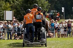 Chardon IJsbrand, NED, Baldun, Darco, Sendor, Winston E, Zion<br /> CHIO Aachen 2017<br /> © Hippo Foto - Dirk Caremans<br /> 22/07/2017