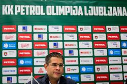 Sasa Nikitovicduring Presentation of new coach of KK Petrol Olimpija Ljubljana, Sasa Nikitovic, on November 23, 2018 in SRC Stozice, Ljubljana, Slovenia. Photo by Ziga Zupan / Sportida