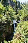 Waterfall in the Black hills, South Dakota, USA