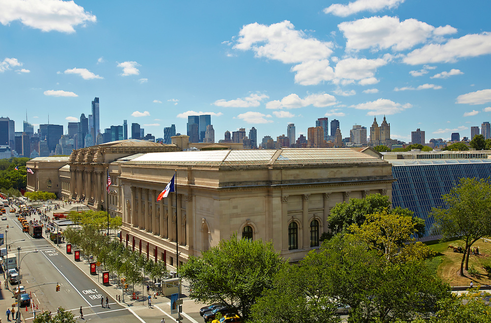 View of the Metropolitan Museum of Art from 1035 Fifth Avenue, 8th floor