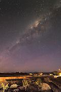 Milky way above San Pedro de Atacama in Chile