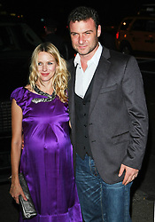"""Naomi Watts and Liev Schreiber at a screening of """"Filth and Wisdom"""" in New York City."""