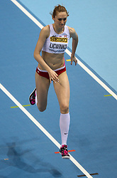 07.03.2014, Ergo Arena, Sopot, POL, IAAF, Leichtathletik Indoor WM, Sopot 2014, Tag 1, im Bild Kamilia Licwinko (POL) // Kamilia Licwinko (POL) during day one of IAAF World Indoor Championships Sopot 2014 at the Ergo Arena in Sopot, Poland on 2014/03/07. EXPA Pictures © 2014, PhotoCredit: EXPA/ Newspix/ Tomasz Jastrzebowski<br /> <br /> *****ATTENTION - for AUT, SLO, CRO, SRB, BIH, MAZ, TUR, SUI, SWE only*****