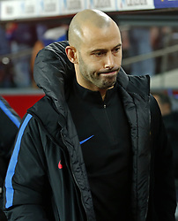 December 17, 2017 - Barcelona, Catalonia, Spain - Javier Mascherano during the La Liga match between FC Barcelona v Real Club Deportivo de La Coruna, in Barcelona, on December 17, 2017. (Credit Image: © Joan Valls/NurPhoto via ZUMA Press)