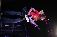 Nick Perri of Silvertide performs at the Electric Factory August 21, 2004 in Philadelphia, Pennsylvania. (Photo by William Thomas Cain/Getty Images)