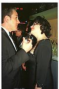 Monica Lewinsky. Vanity Fair Oscar night party. Mortons. Los Angeles. 28 March 1999. Film 99175f26<br /> © Copyright Photograph by Dafydd Jones 66 Stockwell Park Rd. London SW9 0DA<br /> Tel 0171 733 0108<br /> www.dafjones.com