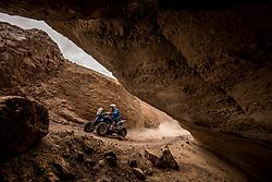 January 11, 2019 - Arequipa, Peru - AREQUIPA, PU - 11.01.2019: DAKAR 2019 - Cavigliasso Nicolas (ARG) during the Dakar Rally 2019, this Friday (11), in Arequipa, Peru. (Credit Image: © José MáRio Dias/Fotoarena via ZUMA Press)