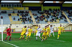 Matej Podlogar od Domzale during football match between NK Domzale and NK Celje in 16th Round of Prva liga Telekom Slovenije 2018/19, on November 11, 2018 in Sportni Park, Domzale, Slovenia. Photo by Vid Ponikvar / Sportida