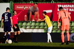Mustafa Nukic of NK Bravo during football match between NK Bravo and NK Maribor in 12th Round of Prva liga Telekom Slovenije 2020/21, on November 21, 2020 in Stadium ZAK, Ljubljana, Slovenia. Photo by Grega Valancic / Sportida