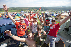 "Sunday, Rockness 2013, the annual music festival which took place in Scotland at Clune Farm, Dores, on the banks of Loch Ness, near Inverness in the Scottish Highlands. The festival is known as ""the most beautiful festival in the world""."