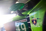 January 5-7, 2018. IMSA Weathertech Series ROAR before 24 test. 19 GRT Grasser Racing Team, Lamborghini Huracan GT3, Ezequiel Perez Companc, Christian Engelhart, Christopher Lenz