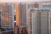 The MGM Signature Towers and The Marriott Grand Chateau, Las Vegas, Nevada.