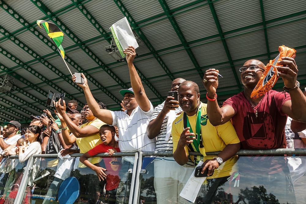 adidas Grand Prix Diamond League Track & Field: Jamaican fans