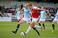 Manchester City defender Esme Morgan (14) during the FA Women's Super League match between Arsenal Women FC and Manchester City Women at Meadow Park, Borehamwood, United Kingdom on 12 May 2019.