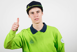 Tilen Bartol during the outfitting of the Slovenian Olympic Team for PyeongChang 2018, on January 29, 2018 in GH Union, Ljubljana, Slovenia. Photo by Urban Urbanc / Sportida