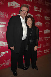 ANITA & GORDON RODDICK at Fast Forward - a fund-raising party for the National Theatre held at The Roundhouse, London NW1 on 1st March 2007.<br />