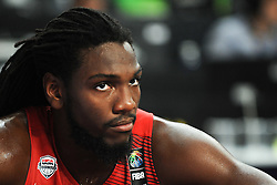 Kenneth Faried of USA during basketball match between National Teams of Slovenia and USA in Quarterfinals of FIBA Basketball World Cup Spain 2014, on September 9, 2014 in Palau Sant Jordi, Barcelona, Spain. Photo by Tom Luksys  / Sportida.com <br /> ONLY FOR Slovenia, France