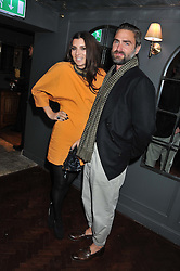 GRACE WOODWARD and KEN DREWERY at the launch party for Barberella, 428 Fulham Road, London SW6 on 17th October 2012.