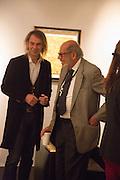 IVOR BRAKA, Collector's preview of PAD. Berkeley Sq. London. 8 October 2012.