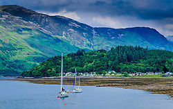 The village of Glencoe and Loch Leven<br /> <br /> (c) Andrew Wilson | Edinburgh Elite media
