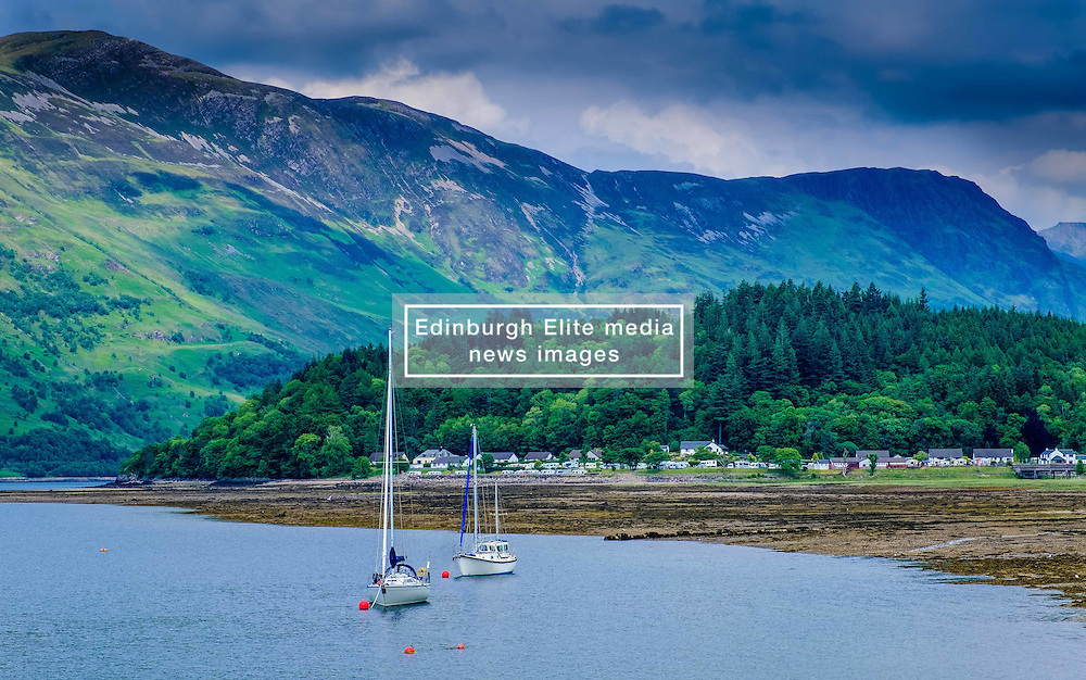 The village of Glencoe and Loch Leven<br /> <br /> (c) Andrew Wilson   Edinburgh Elite media