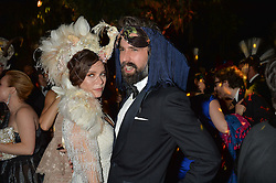 ANNA FRIEL and JACK GUINNESS at The Animal Ball presented by Elephant Family held at Victoria House, Bloomsbury Square, London on 22nd November 2016.