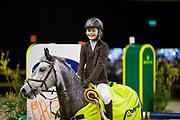 Evi Peemen - Vive la Vie's Gompie<br /> Indoor Brabant 2017<br /> © DigiShots